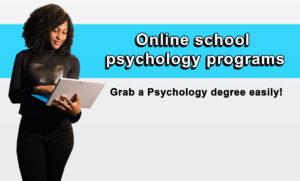 Online school psychology programs