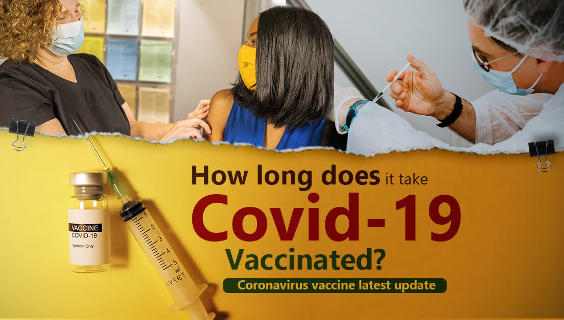 How long does it take Covid-19 vaccinated Covid-19 virus vaccine latest update