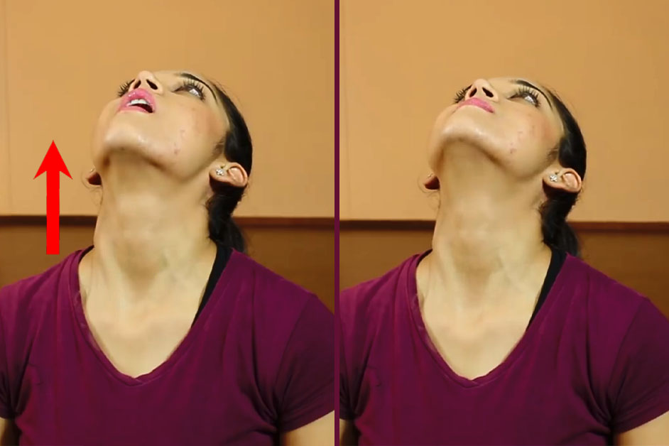 Jaw jut - Exercise For Rid Double Chin